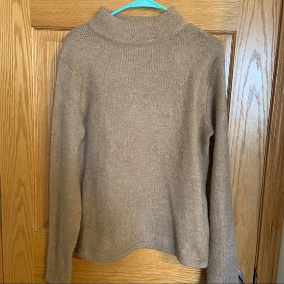 Nasty Gal Tan Mockneck Sweater